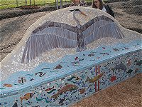 Mosaic at Annie's Playground